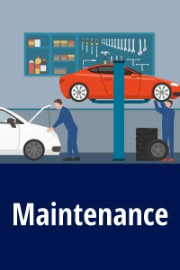 Maintenance for two cars