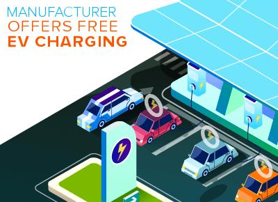 Manufacturer Offers Free EV Charging