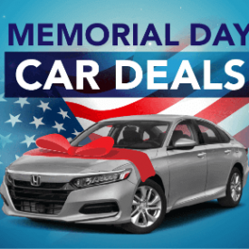 Memorial Day Car Deals [2021 Edition]