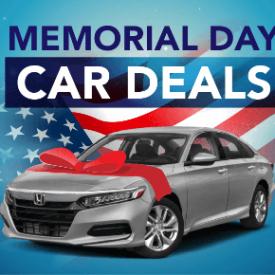 Memorial Day Car Deals [2021 Edition]