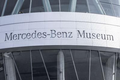 Mercedes Delivery Center Sindelfingen near Stuttgart