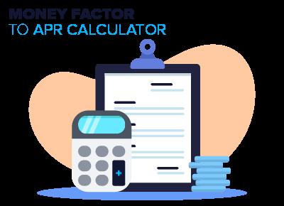 Money Factor to APR Calculator