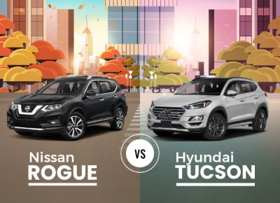 Nissan Rogue vs Hyundai Tucson