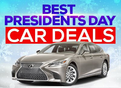 Presidents Day financing incentives, lease deals, and cashback offers