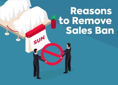 Reasons to Remove Sales Ban