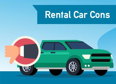 Rental Car Cons