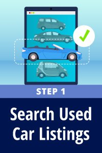 Search used car listings