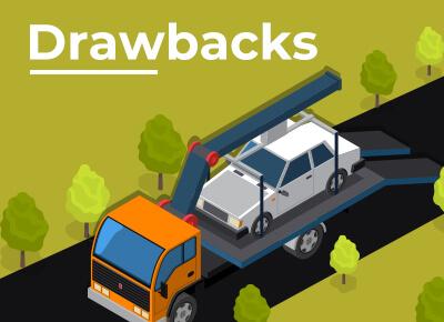 Shipping Car Drawbacks