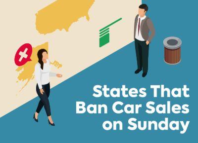 States That Ban Car Sales