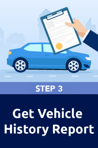 Step 3 - Check the car's history and condition