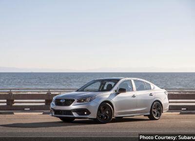 Subaru Legacy Best Family Sedan