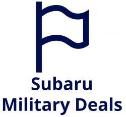 Subaru Military Deals