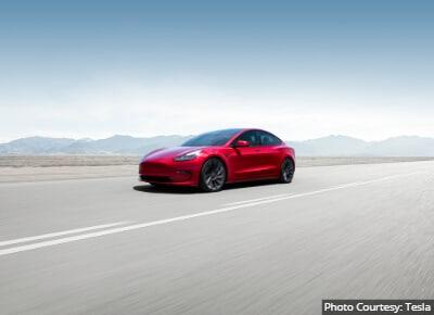 Tesla Model 3 Ridesharing