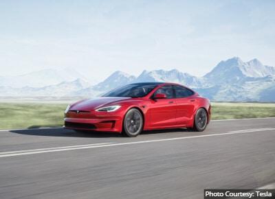 Tesla Model S Best Luxury Commuter