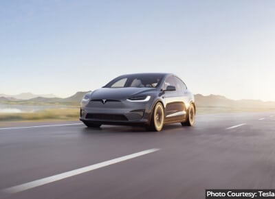 Tesla Model X Best Luxury Commuter