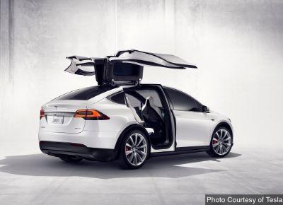 Tesla Model X Minivan