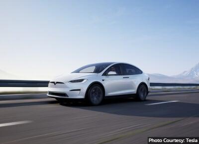 Tesla Model X Most Reliable Midsize SUV
