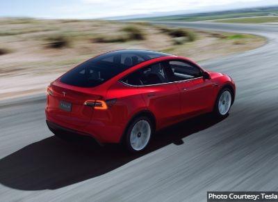 Tesla Model Y EV Crossover