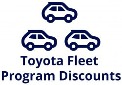 Toyota Fleet Discounts
