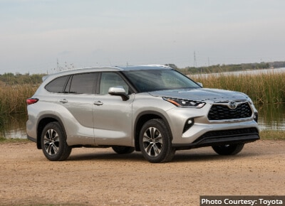 Toyota Highlander Most Reliable Midsize SUV