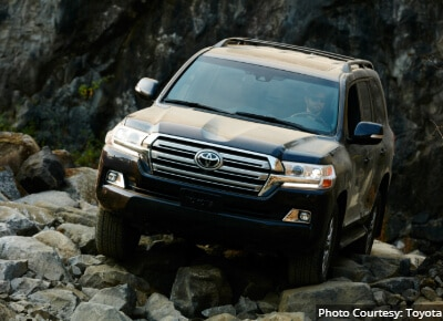Toyota Land Cruiser 8 Passenger SUV
