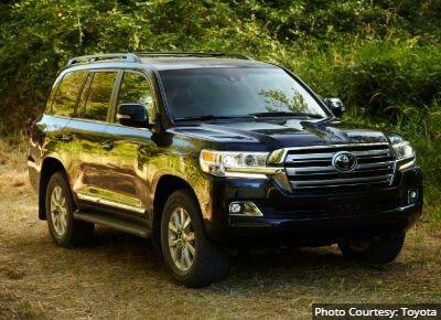Toyota Land Cruiser Best Towing