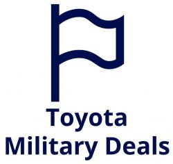 Toyota Military Deals