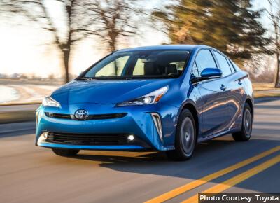 Toyota Prius Ridesharing