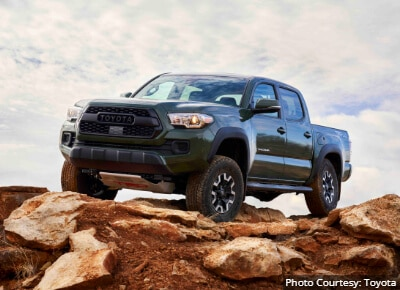 Toyota Tacoma Best Trucks by Size