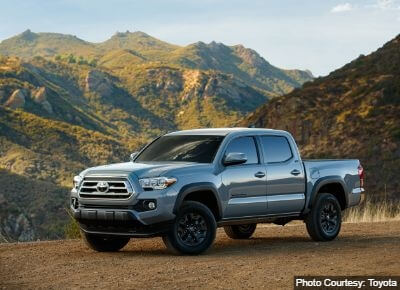 Toyota Tacoma Towing