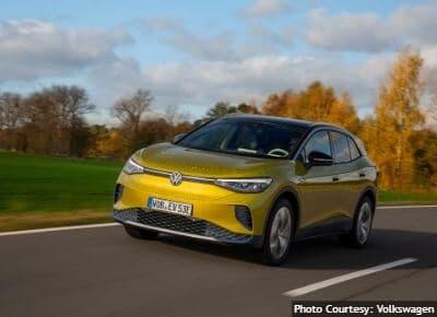 Volkswagen ID4 Longest Range EVs