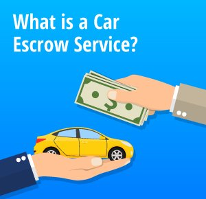 What is a car escrow service?