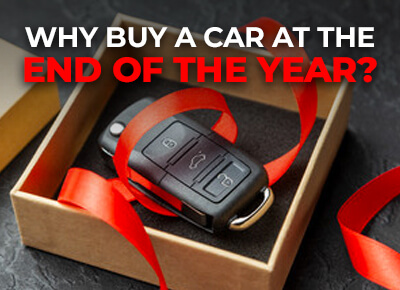 Why buy a car at the end of the year
