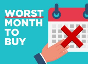 Worst Month to Buy a Car