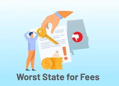 Worst States Fees