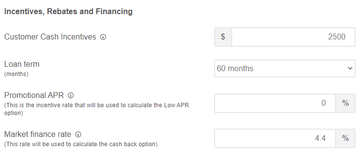 apr cashback calculator