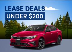 best lease deals under 200 per month