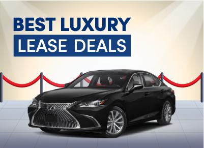 best luxury car lease deals