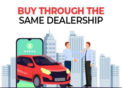 buy through dealership