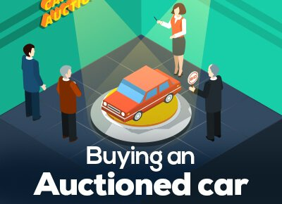 buying an auctioned car from dealership