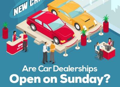 car dealerships open on sundays