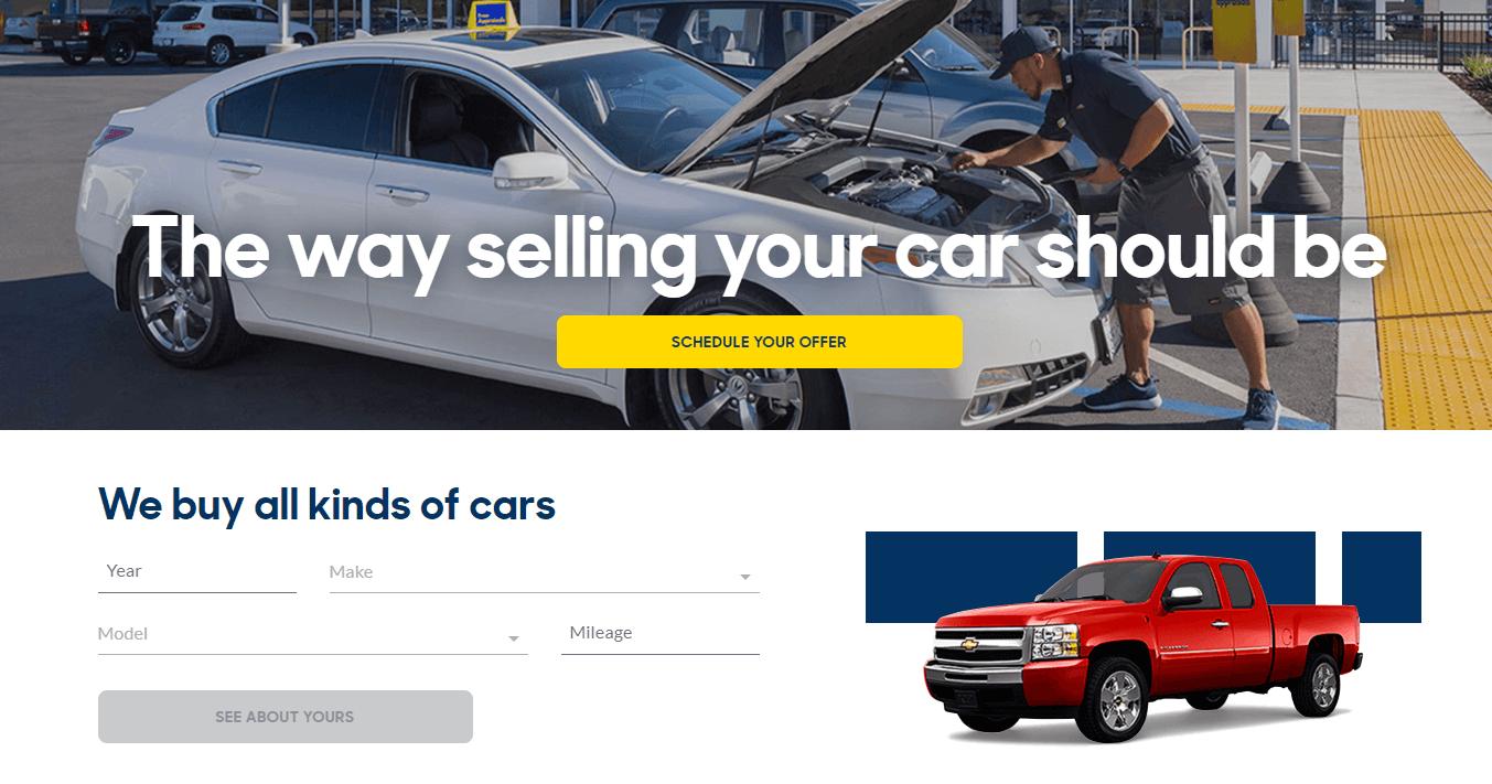 carmax sell