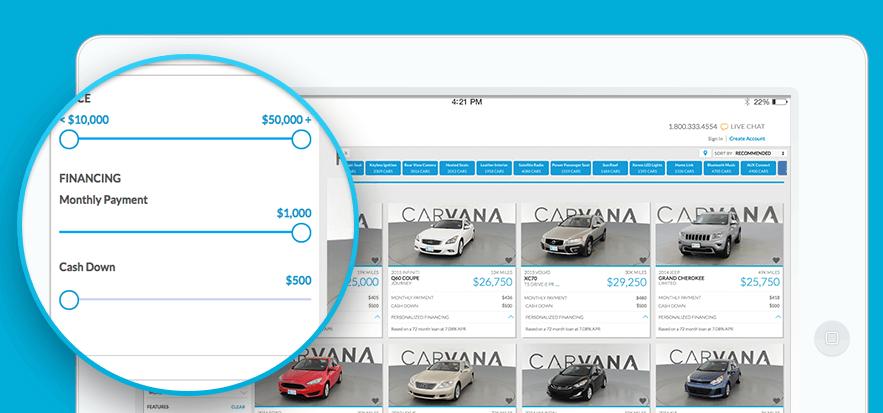 carvana finance