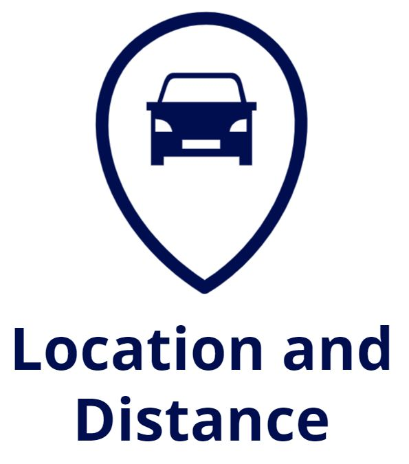 distance and location shipping