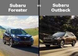 forester vs outback