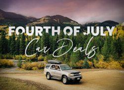 Fourth of July car deals