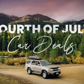 Fourth of July Car Deals [2020 Edition]