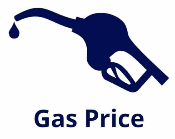 gas mileage price