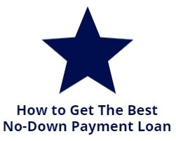 how to get best no down payment loan