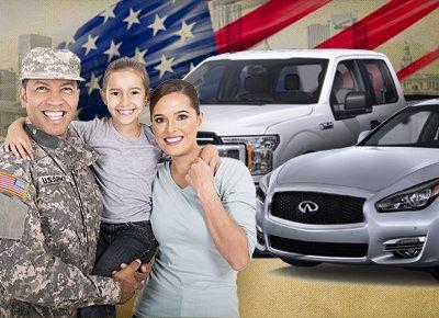 military car deals